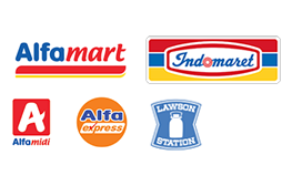 Pembayaran dapat dilakukan melalui beberapa Mini Market dibawah ini.